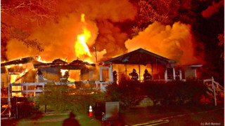Photo Story: Flames Engulf N.C. Home