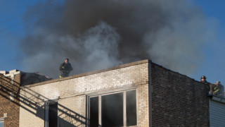 Photo Story: Fire Hits Vacant Chicago Buildings