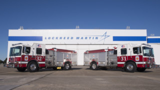 Lockheed Martin in Georgia Receives New Pumper