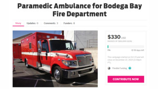 Calif. District Looks to Crowd-funding to Buy Ambulance