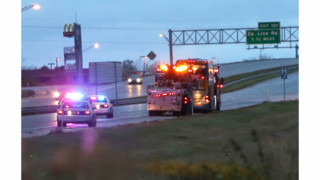 Tour Bus Crashes on Ind. Highway