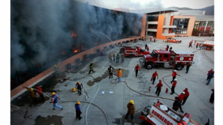 Protesters Burn State Capital in Mexico