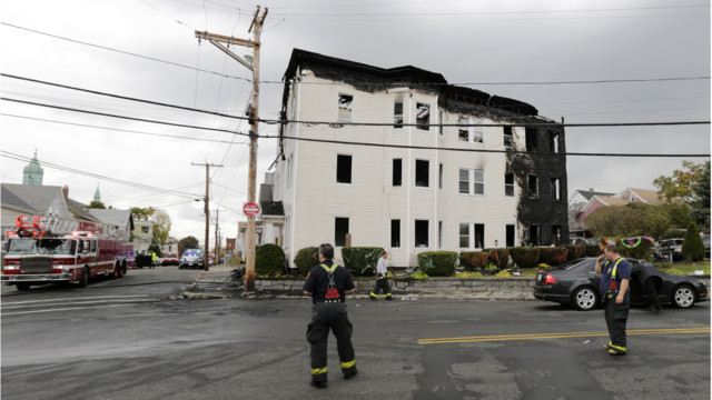 Electrical Problem Caused Fatal 4-Alarm Mass. Fire