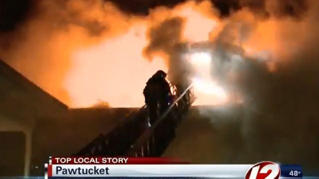 Three R.I. Firefighters Hurt in Apartment Complex Fire