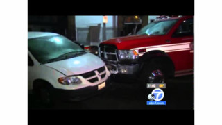 LA Engine Crew Chases Stolen Ambulance