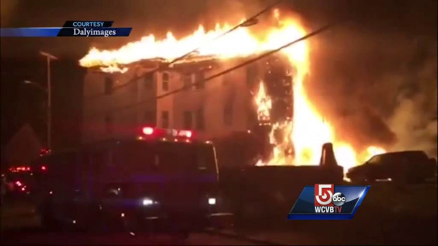 Two boys die in Mass. Blaze