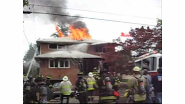 Flashback Friday Video: Flashover at N.J. House Fire (2009)