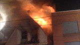 Pa. Crews Tackle Large Dwelling Fire