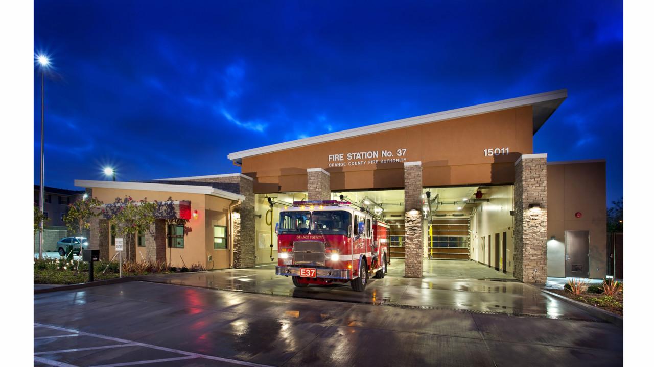 Photos Award winning Fire Station Designs Firehouses