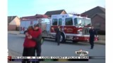 Ark. Firefighters Finish Holiday Lights After Medical Run