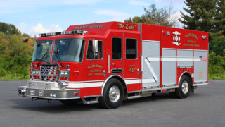 Engine 411, 'The Duke' Now Serves Marlboro, Ohio