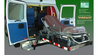 Mac's Lift Gates on Ambulances Headed to Dubai