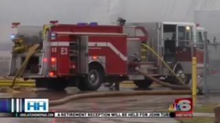 Warehouse Fire in Shreveport, La. Burns For Hours