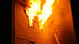 Photo Story: Quick Knock Halts N.J. Fire