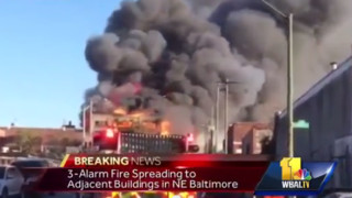 Warehouse Fire Sparks Multiple Blazes, Taxes Baltimore Resources