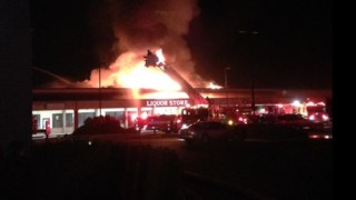 Idaho Strip Mall Fire Destroys Five Businesses