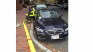 Hydrant Blocked by BMW at Boston Blaze