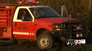 Car Trouble Starts Grass Fire in Oklahoma
