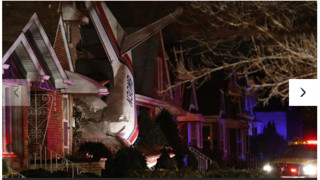 Small Plane Crashes into Chicago House