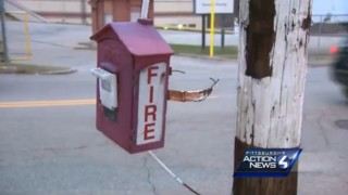 Fire Boxes Stolen, Damaged in Pa. City