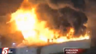 Dozens of Fire Burn in Ferguson After Announcement