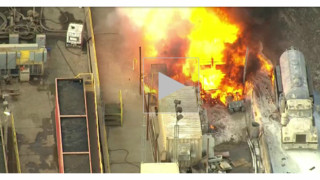 Calif. Firefighters Hurt as Vacuum Truck Explodes