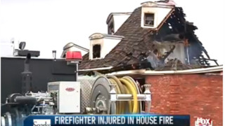 Ark. Firefighter Burned, Falls Through Floor at House Fire