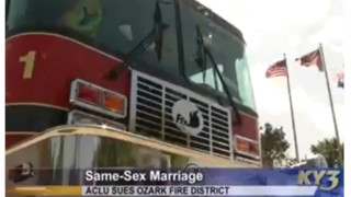 ACLU Sues Ozark Fire Dept. Over Same-Sex Marriage Benefits