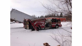 Ind. Fire Truck Struck; Three Firefighters Hurt