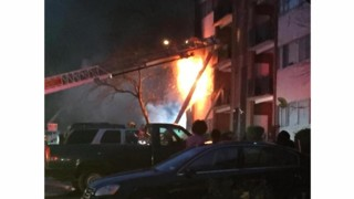 Md. Residents Jump from Balconies to Escape Fire