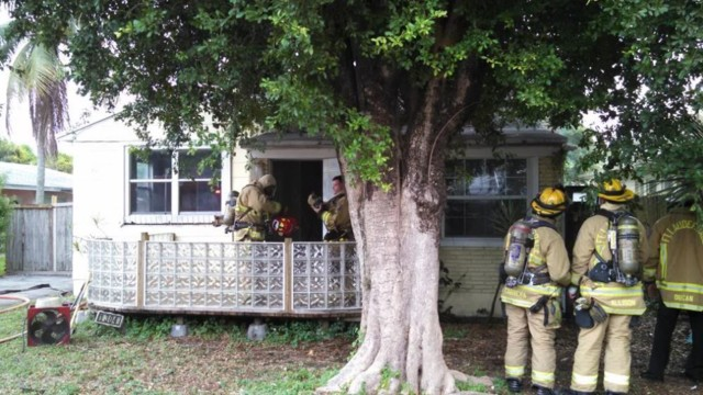 Fort Lauderdale Fire Marshal Discovers House Fire