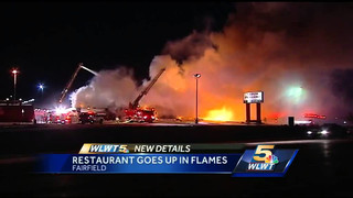 Fire destroys Ohio restaurant