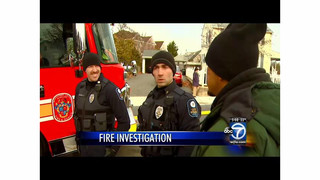 Man tells reporter:  'I set it on fire'