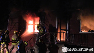 Pa. Crews Battle Early Morning Fire
