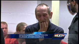 Ky. arson suspect indicted for murder