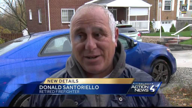 Retired Pittsburgh Firefighter Rescues Woman from Fire