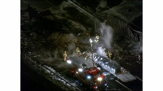 Fiery NJ Turnpike Crash Kills One