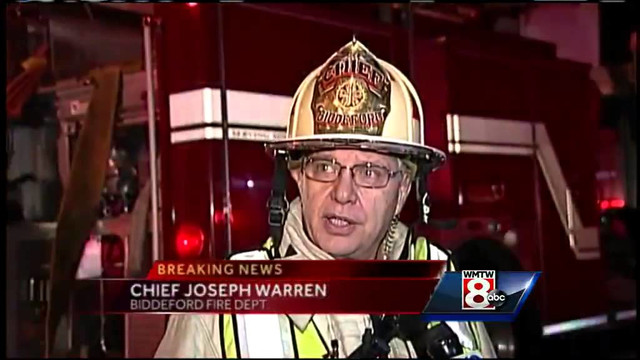 Maine Firefighters Tackle Four-Alarm Building Fire