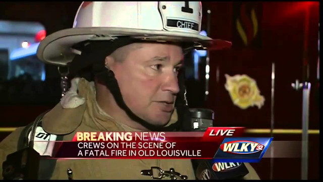 Old Louisville fire claims one
