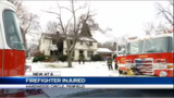 Upstate N.Y. Firefighter Hurt Falling Through Floor