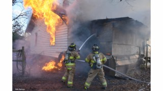 Photo Story: Flames Engulf N.C. Farm House