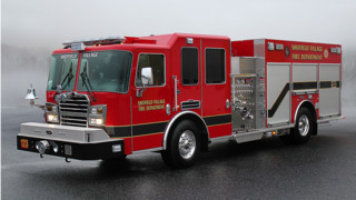 Sheffield Village, Ohio, Has New Pumper in Service