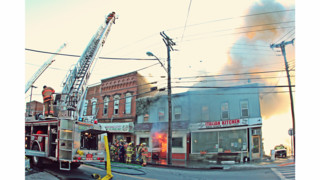 On The Job New York: General-Alarm Fire Destroys Mixed-Use Buildings in Ovid