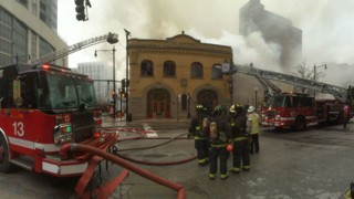 Former Chicago Firehouse Featured in 'Backdraft' Burns