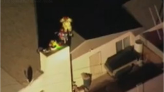 Ariz. Firefighters Rescue Boy From Chimney