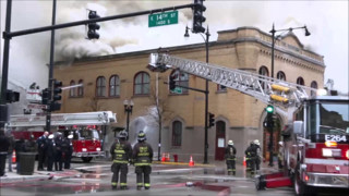 Extra-alarm Fire Hits Former Chicago Engine 104 Fire Station