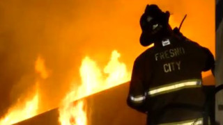 Fire Hits Vacant Calif. Building