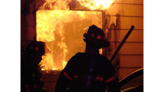 Photo Story: Police Help N.J. Resident Escape Fire