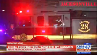 Jacksonville, Fla., Firefighters Shot at Outside Fire Station