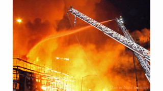 Photos: Flames Engulf LA Apartment Complex